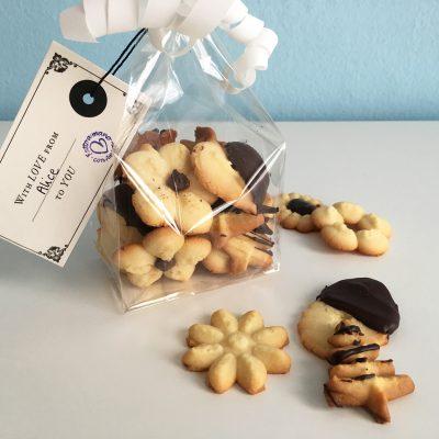 Biscotti con la sparabiscotti Alice Dolce Vaniglia
