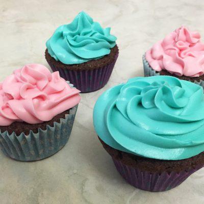 Cupcake al cioccolato Alice Dolce Vaniglia
