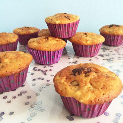 Muffin alle mele e cioccolato Alice Dolce Vaniglia