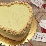 Bavarese al cioccolato bianco e pistacchi