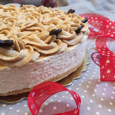 Cheesecake al caramello salato Alice Dolce Vaniglia