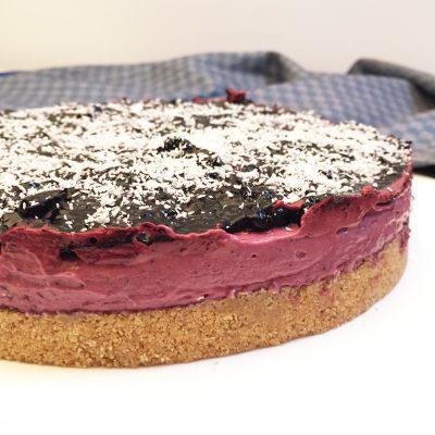 Cheesecake ai mirtilli con yogurt greco Alice Dolce Vaniglia
