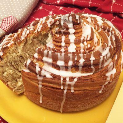 Cinnamon roll cake Alice Dolce Vaniglia